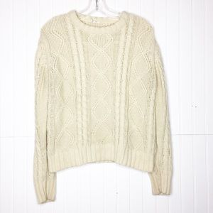 Vintage | Cable Knit Pullover